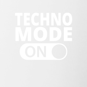 MODE ON TECHNO - Tvåfärgad mugg