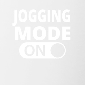 MODE ON JOGGING - Tasse zweifarbig
