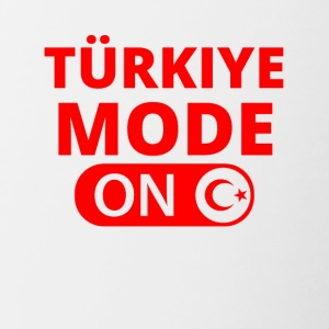 MODE ON Türkiye Turkije Ataturk - Mok tweekleurig