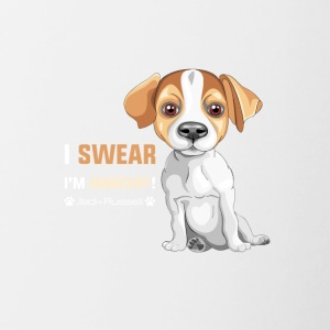 Dog T Shirt | Innocent Jack Russel - Contrasting Mug
