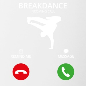 Call Mobile Call breakdance bboy breakin - Contrasting Mug