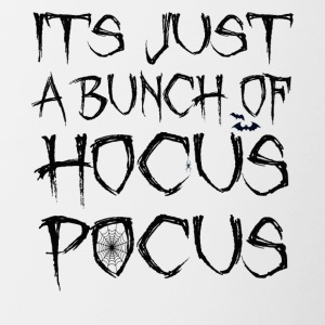 Its Just A Bunch Of Hocus Pocus Halloween Spider - Contrasting Mug