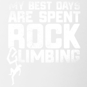 21 best days rock climb - Contrasting Mug