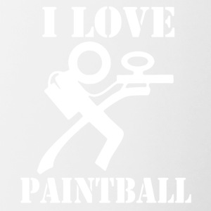 amo paintball - Tazze bicolor