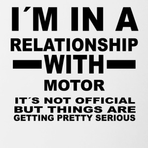 Relationship with MOTOR SPORTS - Contrasting Mug