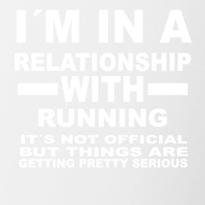 Relationship with RUNNING - Contrasting Mug
