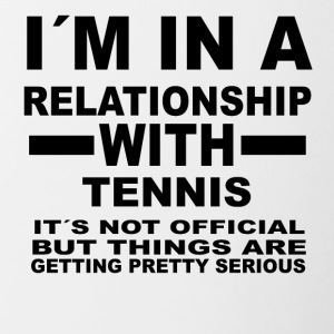 Relationship with TENNIS - Contrasting Mug