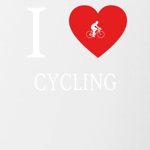 I Love CYCLING - Contrasting Mug