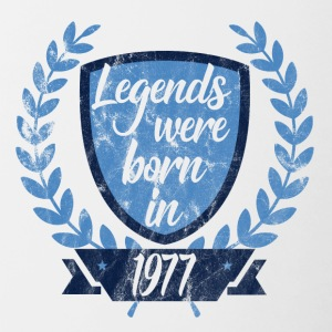 Legends were born in 1977 - Contrasting Mug