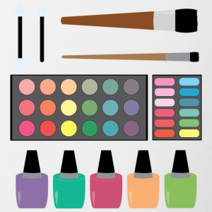 Make-up set - Kubek dwukolorowy