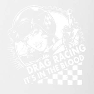 Drag race in the blood - Contrasting Mug