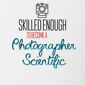 Le photographe scientifique - Tasse bicolore