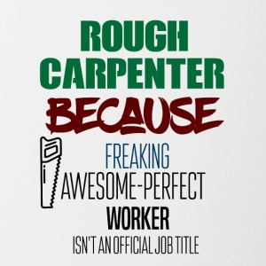 Rough Carpenter - Contrasting Mug