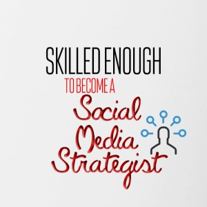 Social Media Strategist - Contrasting Mug