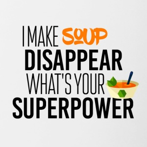 I make soup disappear - Contrasting Mug