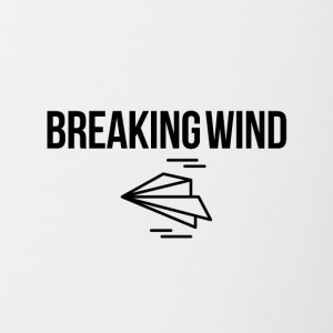 Breaking wind - Contrasting Mug