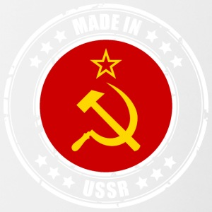 Made in USSR - Tasse zweifarbig