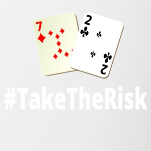 Take The Risk 72o Poker - Tasse zweifarbig