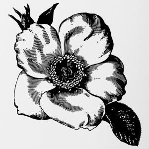 Flower illustration - Contrasting Mug