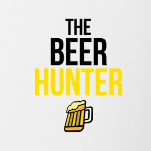 The beer hunter - Contrasting Mug
