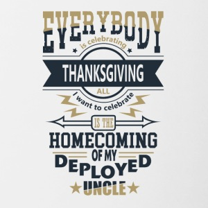 Statonierte Onkel Military Thanksgiving Patriot - Tofarvet krus