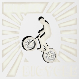 BMX oldschool retro bicycle tricks cool gift - Contrasting Mug