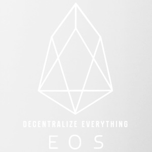 EOS Logo - Decentralize Everything 3 - Contrasting Mug
