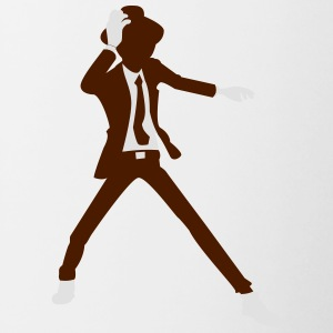 A Disco Dancer In Suit With Hat - Contrasting Mug
