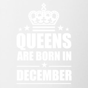 Queen december - Mok tweekleurig