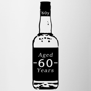 60 ans - Whisky - Tasse bicolore