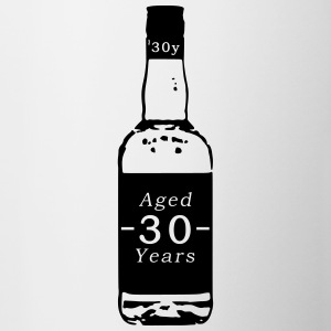 30 ans - Whisky - Tasse bicolore