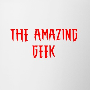 The Amazing Geek - Taza en dos colores