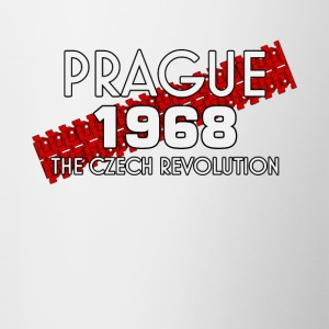 Prague 1968 printemps tchèque révolution t-shirt - Tasse bicolore