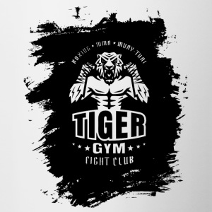 Tiger Gym - Tofarvet krus