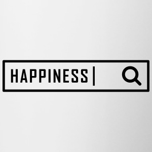 Search happiness - Kubek dwukolorowy
