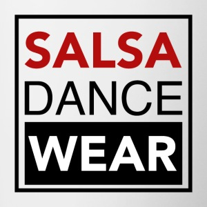 SALSA DANCE WEAR - to Dance Shirts - Mok tweekleurig