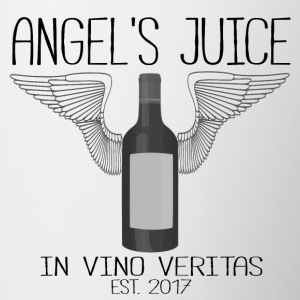 ANGEL S JUICE - in vino veritas - Contrasting Mug