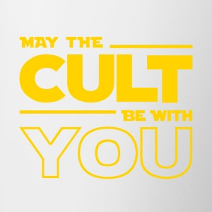 MAY THE CULT BE WITH YOU - Taza en dos colores