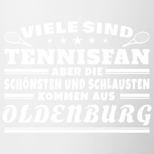Oldenburg Tennisfans - Tasse zweifarbig