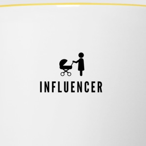 Influencer - Tasse bicolore
