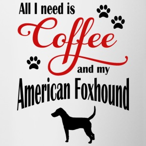 American Foxhound Coffee - Mok tweekleurig