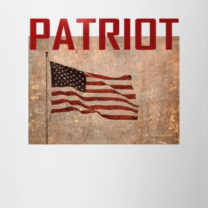 Patriot USA T-shirt - Tofarvet krus