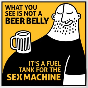 That's Not My Beer Belly! It's A Fuel Tank! - Contrasting Mug