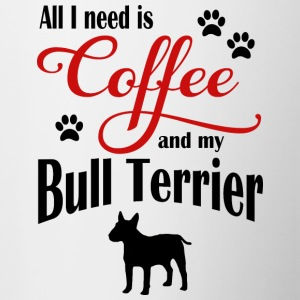 Bull Terrier Coffee - Tazze bicolor