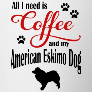 Eskimo Dog Coffee - Mok tweekleurig