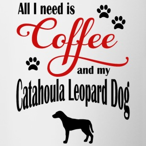 Catahoula Leopard Dog Coffee - Contrasting Mug