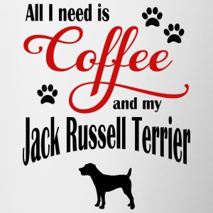 Jack Russel Terrier Coffee - Tazze bicolor