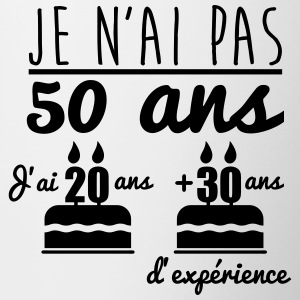 bouteilles et tasses anniversaire 50 ans commander en ligne spreadshirt. Black Bedroom Furniture Sets. Home Design Ideas