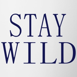 STAY WILD - Mok tweekleurig