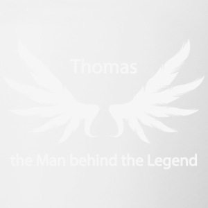 Thomas the Man behind the Legend - Tasse zweifarbig